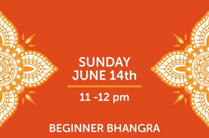 6/14 - Beginner Bhangra Class