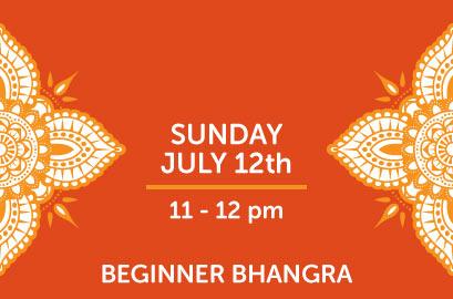 7/12 - Beginner Bhangra Class