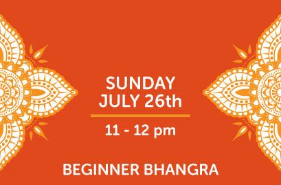 7/26 - Beginner Bhangra Class