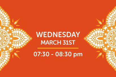03/31/21-Live Stream Bhangra Class