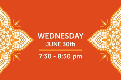 06/30/21-Live Stream Bhangra Class