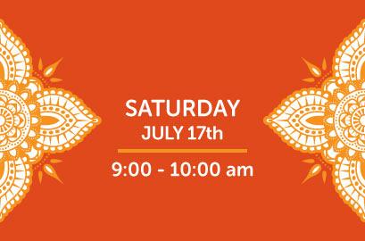 07/17/21-Live Stream Bhangra Class