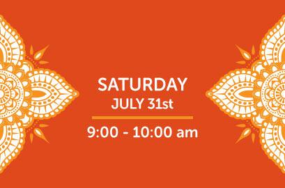 07/31/21-Live Stream Bhangra Class