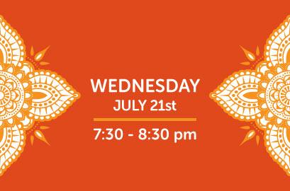 07/21/21-Live Stream Bhangra Class