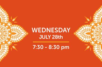 07/28/21-Live Stream Bhangra Class